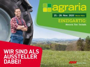 WIR Nordwälder auf der Agraria Wels 2020
