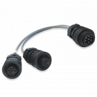 Y-Verteilerkabel für die 7-polige Traktor-Signalsteckdose