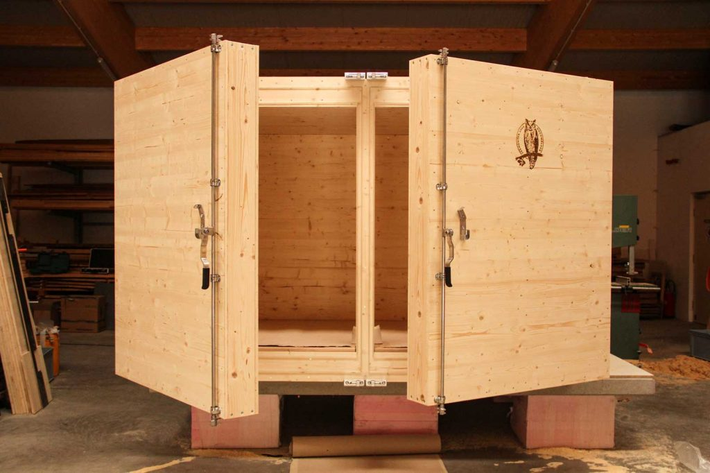 Anfertigung des Nordwälder Fermenter 2000 zur EMa-Eigenproduktion