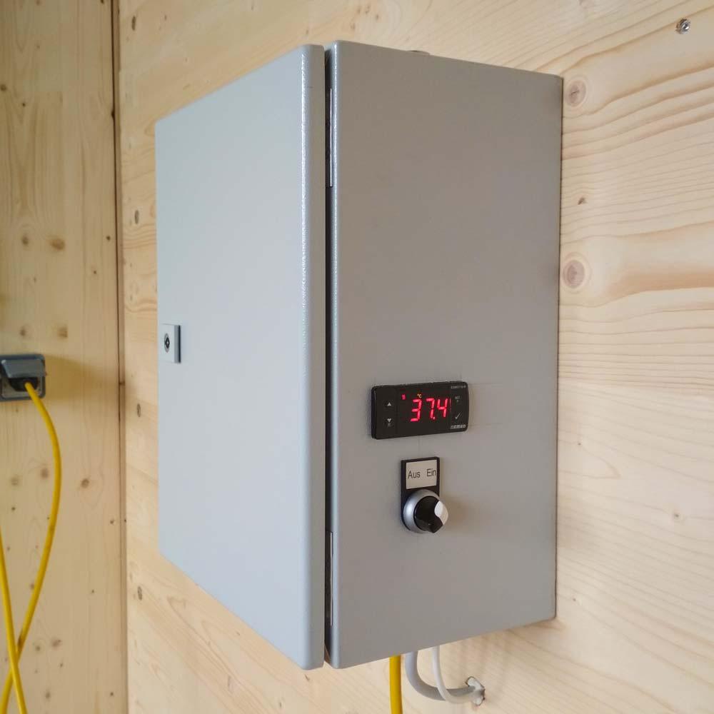 Temperatursteuerung für eine optimale Fermentation von EMa (Effektive Mikroorganismen)