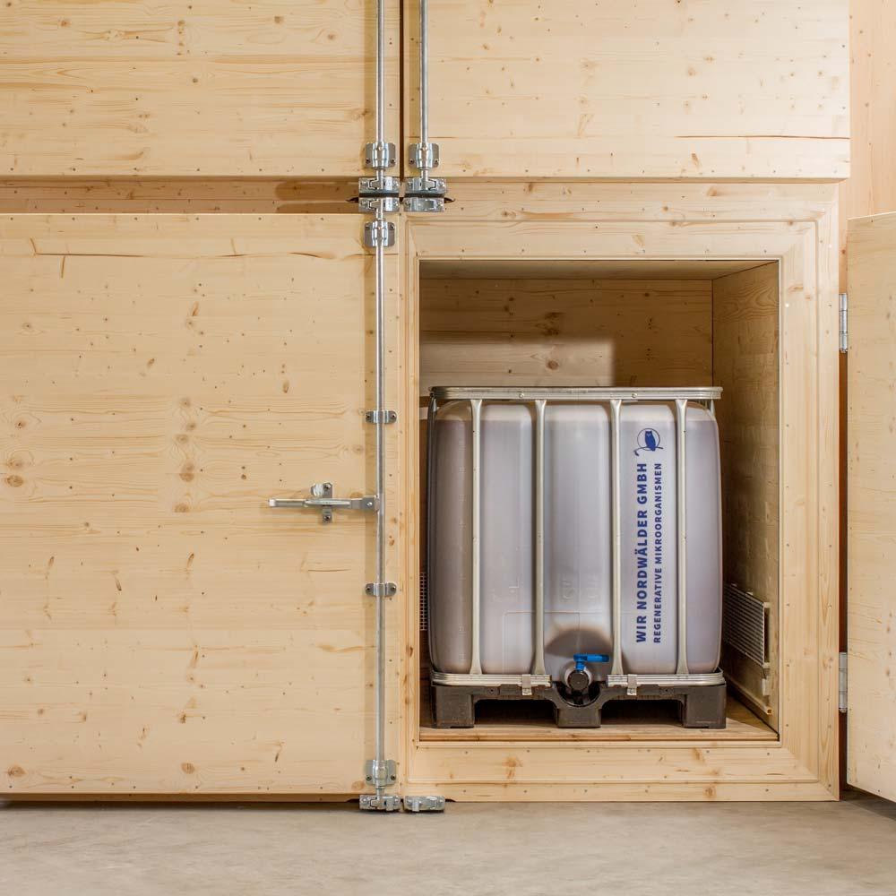 EMa-Fermentation im Nordwälder Fermenter 2000, Effektive Mikroorganismen herstellen
