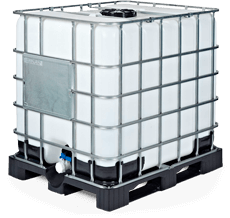 1000 l IBC-Tank für die Eigenproduktion von Regenrativen Mikroorganismen braun (EMa)